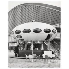 1960, Futuro House, La Défense, Paris, Jean Ribière