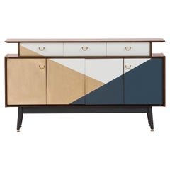 1960 Golden Graphic Sideboard