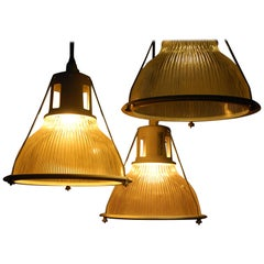 1960 Holophane Industrial Lights 20 Available