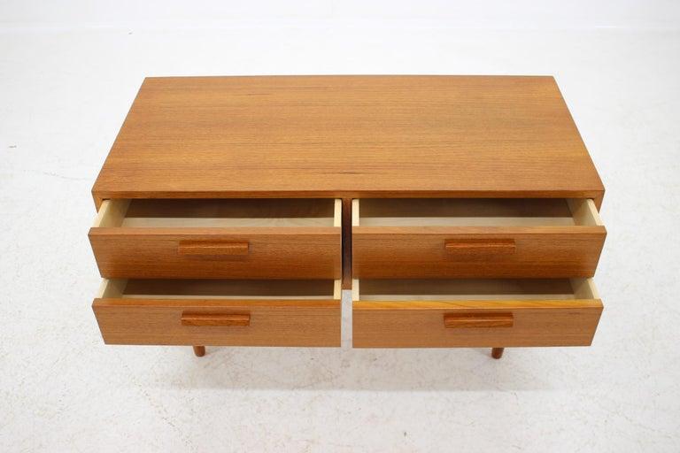 Mid-Century Modern 1960 Kai Kristiansen Teak Chest of Drawers, Denmark For Sale