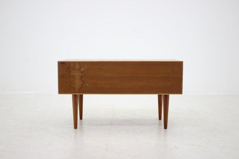 1960 Kai Kristiansen Teak Chest of Drawers, Denmark For Sale 1