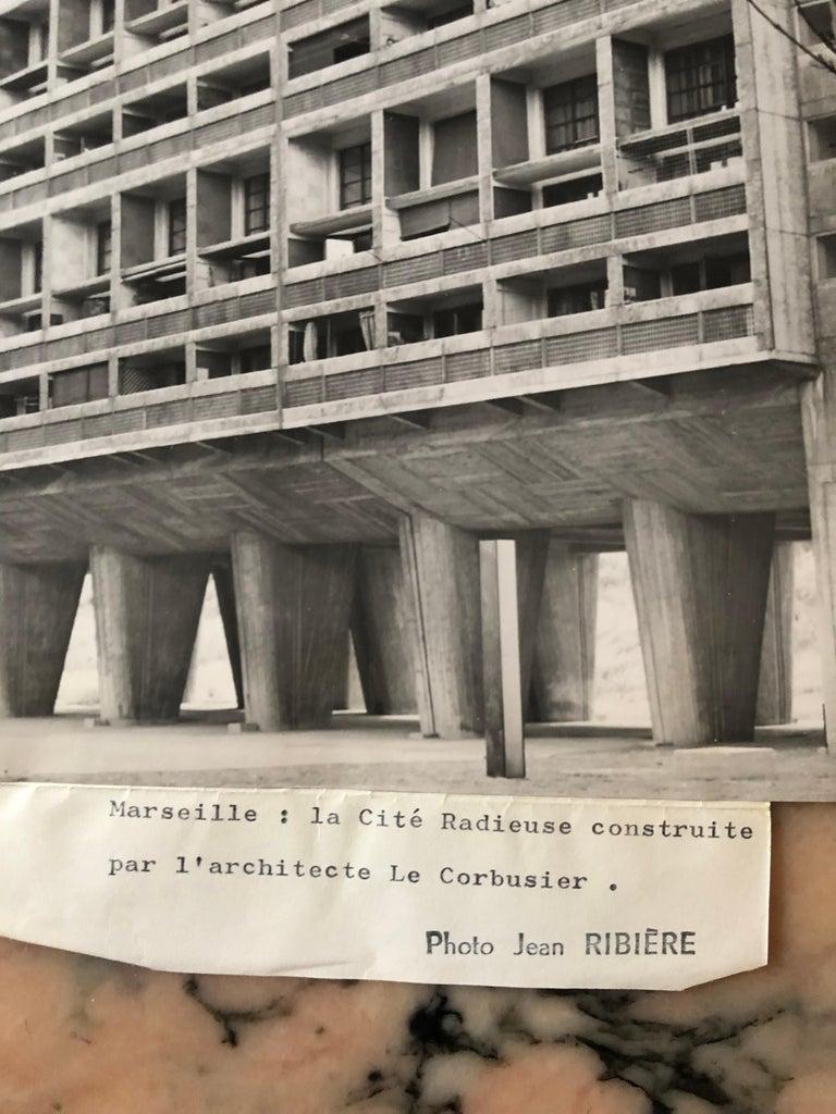 Mid-Century Modern 1960, La Cité Radieuse, Le Corbusier, Marseille, Jean Ribière