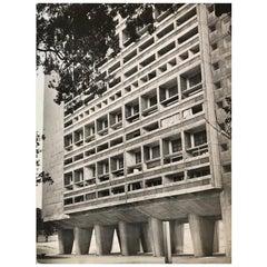 1960, La Cité Radieuse, Le Corbusier, Marseille, Jean Ribière