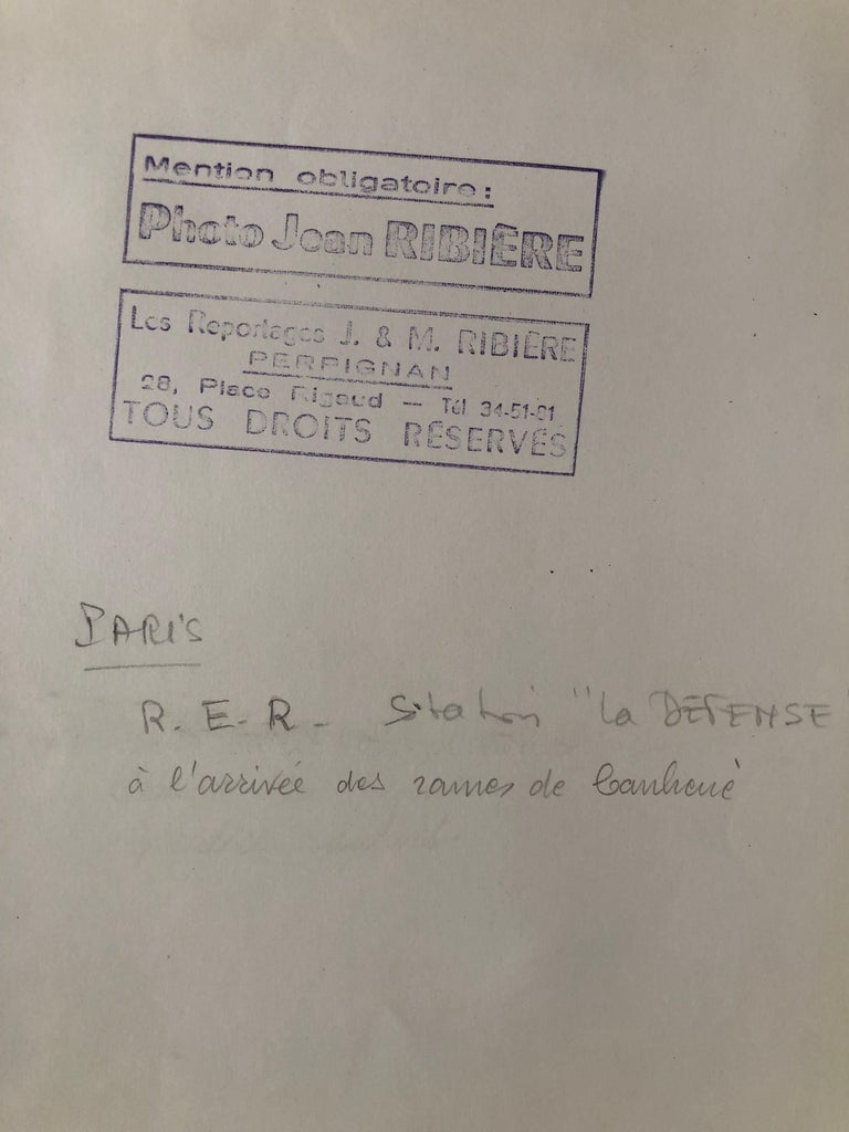 French 1960, La Défense, Jean Ribière For Sale