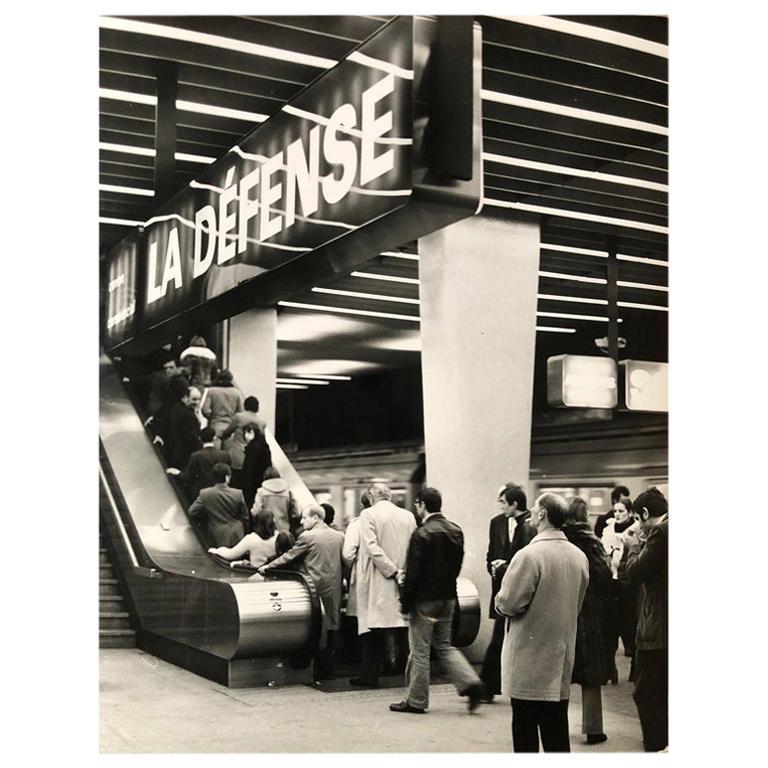 1960, La Défense, Jean Ribière For Sale