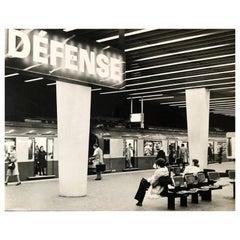 1960, La Défense, Jean Ribière