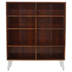 1960 Omann Jun Upcycled Danish Palisander Bookcase