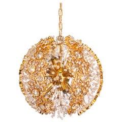 1960 Palwa Ball Chandelier Pendant Light