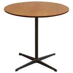 1960, Pedestal Table by Fritz Hansen