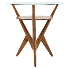 1960 Rare Midcentury Organic Coffee Table, Czechoslovakia