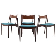 1960 Rare Teak Dining Chairs by Vamo, Denmark