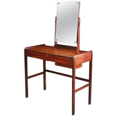 1960s Arne Vodder Rosewood Dressing Table for N.C Mobler