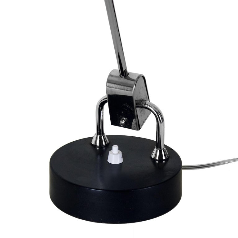 Mid-20th Century 1960s Articulated Desk Lamp by André Mounique for Maison Jumo, France For Sale