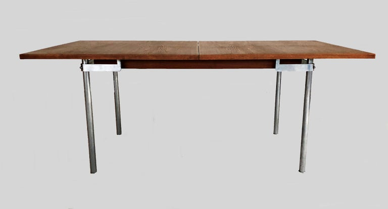 Danish 1960s Hans Wegner Refinished Extension Dining Table in Teak by Andreas Tuck For Sale