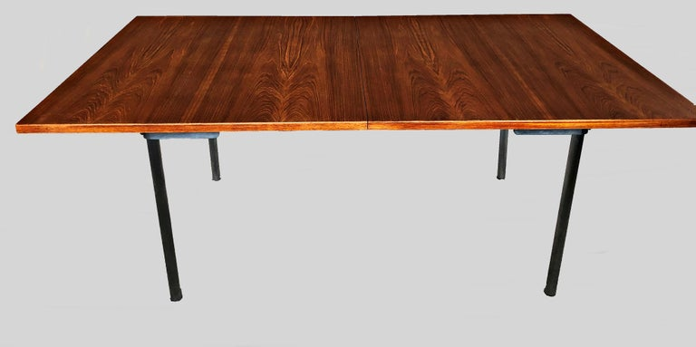 1960s Hans Wegner Refinished Extension Dining Table in Teak by Andreas Tuck For Sale 1