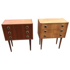 1960s Set of Danish Mid-Century Modern Dressers