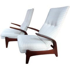 1960 Set of Gimson and Slater, Rock and Rest, Armchairs Lounge Chairs