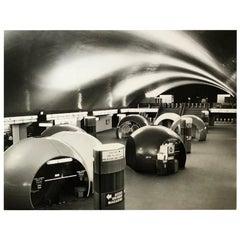 1960, Station Auber, Paris, Jean Ribière