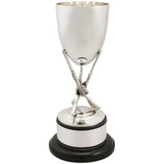 1960 Sterling Silver Rifle Presentation Cup by Robert Pringle & Sons
