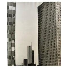 1960, Système des tours, Paris, Jean Ribière