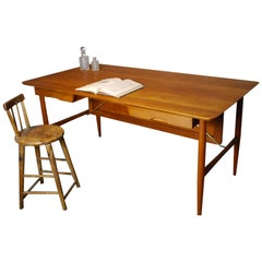 1960 Teak Architects Desk