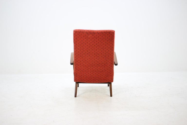 Czech 1960 Thon or Thonet Bentwood Lounge Chair For Sale