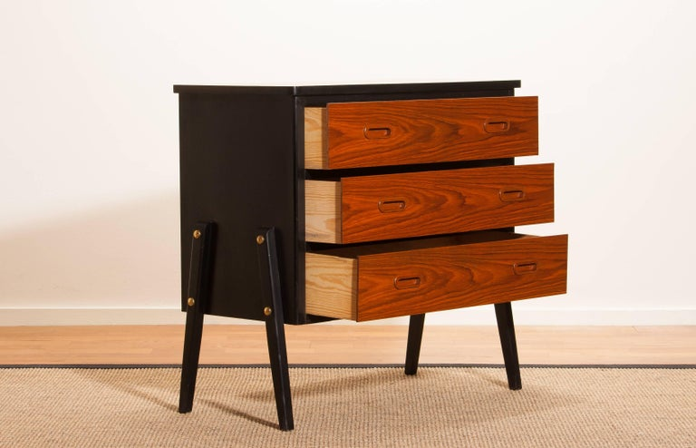 1960s, Teak Small Chest Of Drawers For Sale At 1stdibs