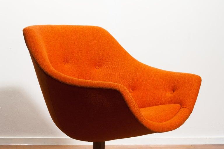 1960s, 1 'Mandarini' Swivel Armchair by Carl Gustaf Hiort and Nanna Ditzel 2