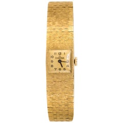 1960s 18 Karat Amati Yellow Gold Omega Ladies Watch