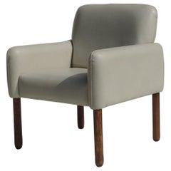 """1960s """"896"""" Vico Magistretti Cassina Italian Design Armchair"""