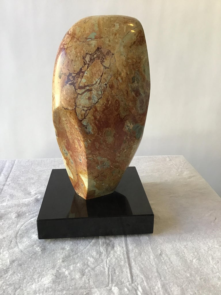 1960s Abstract Marble Sculpture In Good Condition For Sale In Tarrytown, NY