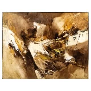 Mid-Century Modern Paintings - 1,752 For Sale at 1stdibs