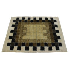 1960s Abstract Wool Carpet by Hojer Eksport Wilton, Denmark