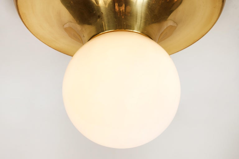 Italian 1960s Achille Castiglioni 'Light Ball' Wall or Ceiling Lamp for Flos For Sale