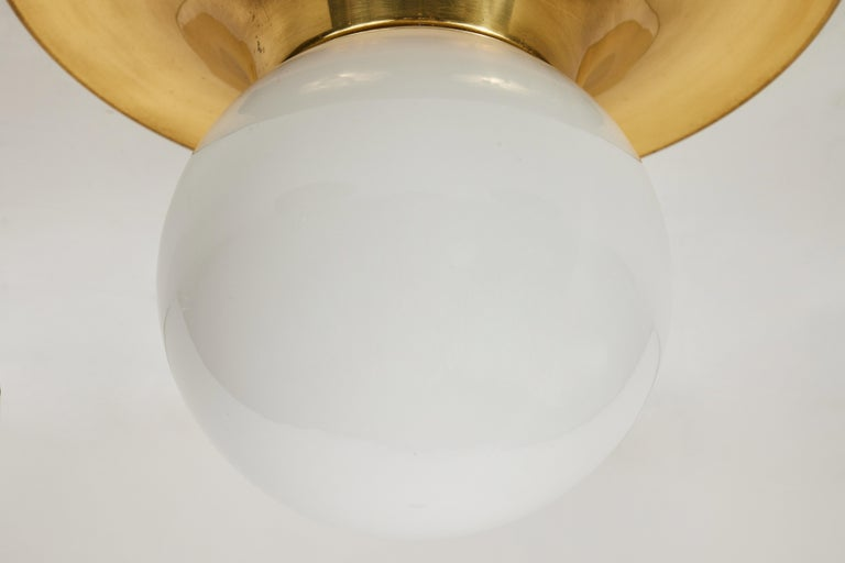 1960s Achille Castiglioni 'Light Ball' Wall or Ceiling Lamp for Flos In Good Condition For Sale In Glendale, CA