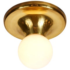 1960s Achille Castiglioni 'Light Ball' Wall or Ceiling Lamp for Flos