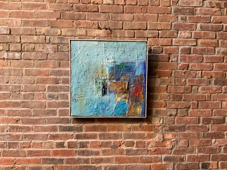 American 1960s Action Painting Manner of Philip Guston For Sale