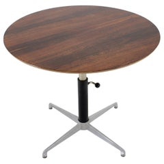 1960s Adjustable Palisander Coffe/Occasional Table, Denmark