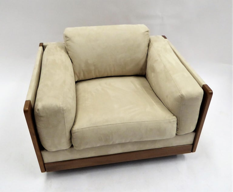 Mid-Century Modern 1960s Afra and Tobia Scarpa Lounge Chair 920 for Cassina, Italy For Sale