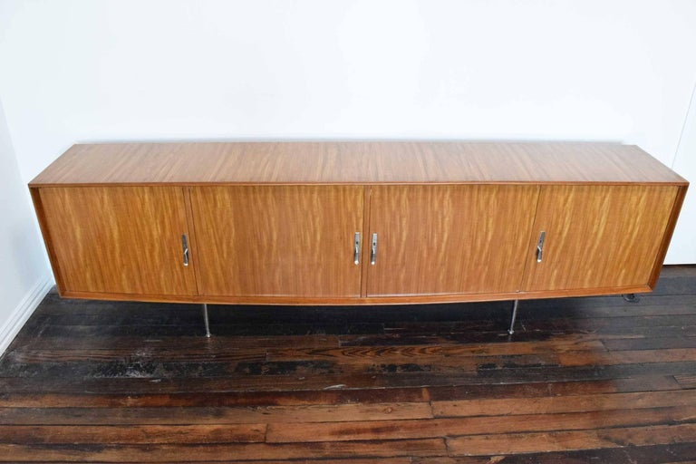 Mid-Century Modern 1960s African Mahogany Sideboard For Sale