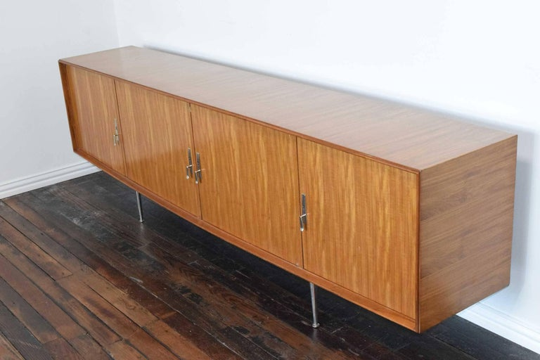 1960s African Mahogany Sideboard In Excellent Condition For Sale In Dallas, TX
