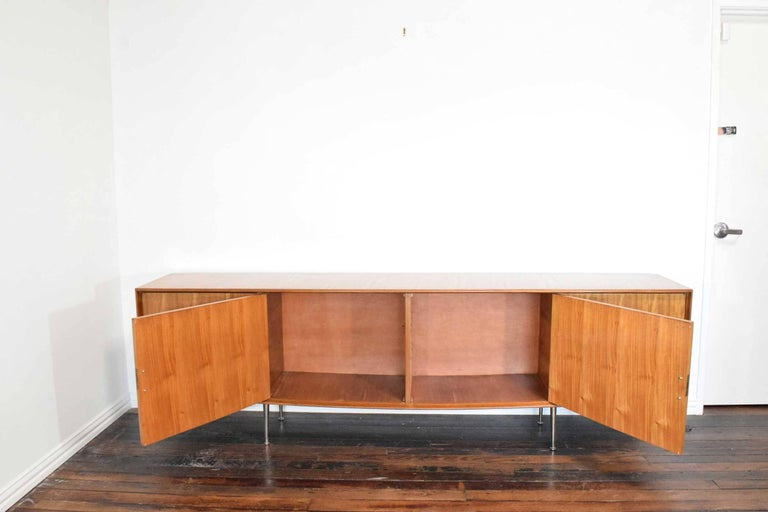 Metal 1960s African Mahogany Sideboard For Sale