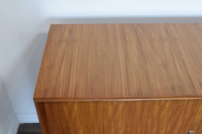 1960s African Mahogany Sideboard For Sale 1