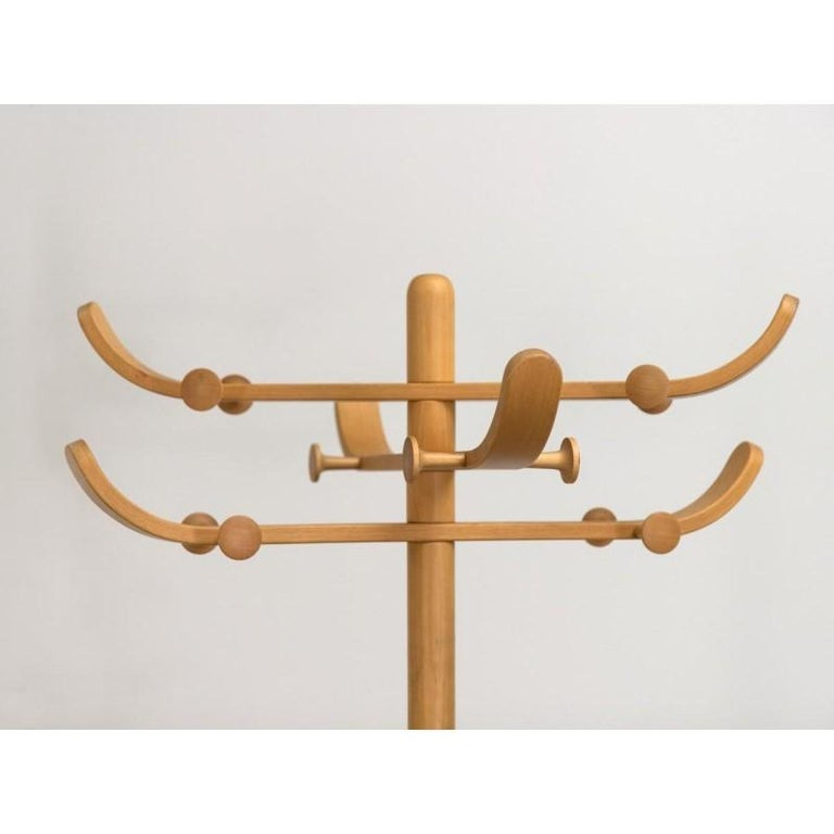 1960s Aksel Kjersgaard Beech Coat Rack In Good Condition In Brooklyn, NY