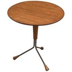 1960s Albert Larsson Side Table, Swedish Midcentury Design