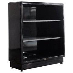 1960s All Steel Tanker Bookcase in Custom Colors, Refinished to Order