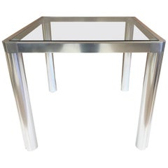 1960s Aluminium Table
