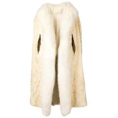 1960s A.N.G.E.L.O. Vintage Cult Fur Cape