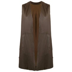 1960s A.N.G.E.L.O. Vintage Cult Multicolor Leather Vest
