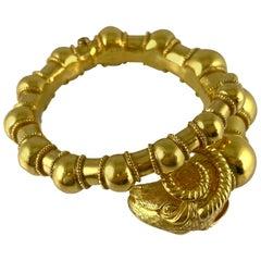 1960s Aries 22 Karat Gold Bracelet